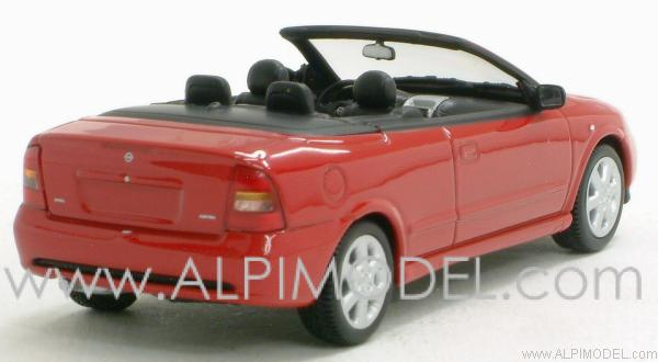 Opel Astra Cabriolet 2000 (Magma Red) - minichamps