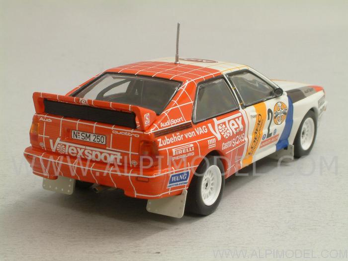 Audi Quattro #2 Rally Winner Hunsruck Rally 1984 Demuth - Lux - minichamps