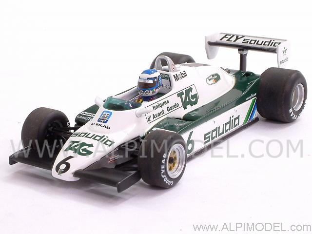 Williams Ford FW08 Winner GP Switzerland - World Champion 1982 Keke Rosberg by minichamps