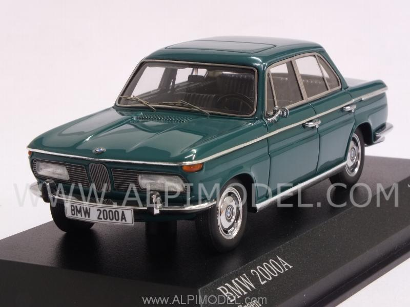 BMW 2000A 1962 (Green) by minichamps