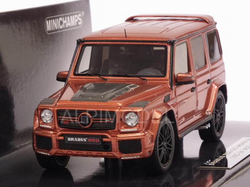 Brabus 850 6.0 Biturbo Widestar (AMG G63) 2016 (Copper Metallic) by minichamps