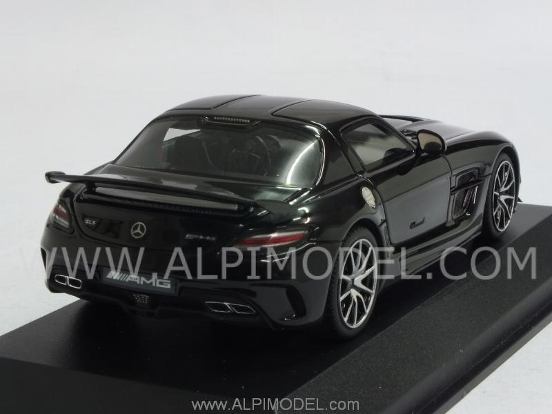 Mercedes SLS AMG Black Series Obsidianschwarz - minichamps