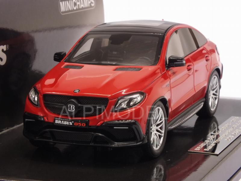 Brabus 850 4x4 Coupe (Mercedes GLE 63S) 2016 (Red) by minichamps