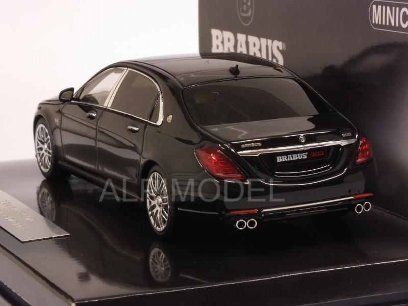 Maybach Brabus 900 (Mercedes Maybach S 600) 2016 (Black) - minichamps