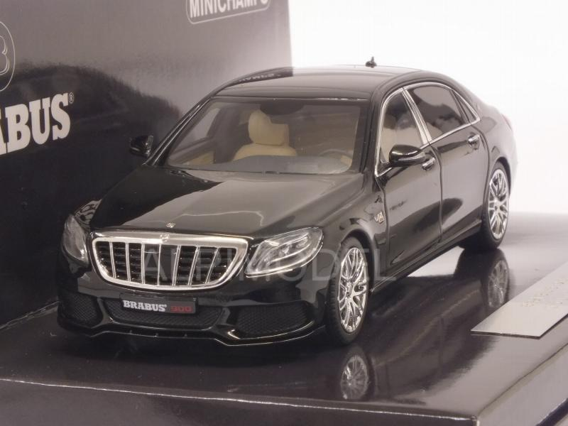 Maybach Brabus 900 (Mercedes Maybach S 600) 2016 (Black) by minichamps