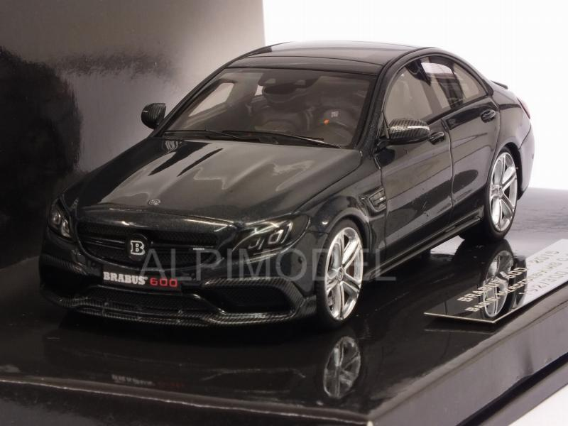 Brabus 600 (Mercedes AMG C63S)  2015 (Black) by minichamps