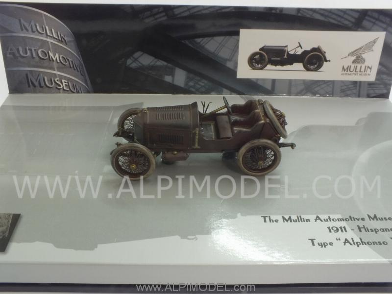 Hispano Suiza 45CR (15-45CV) Alphonso XIII Voiturette 1911 - Mullin Museum Collection by minichamps