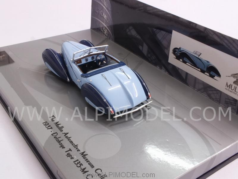 Delahaye Type 135-M Cabriolet 1937 Mullin Museum Collection - minichamps