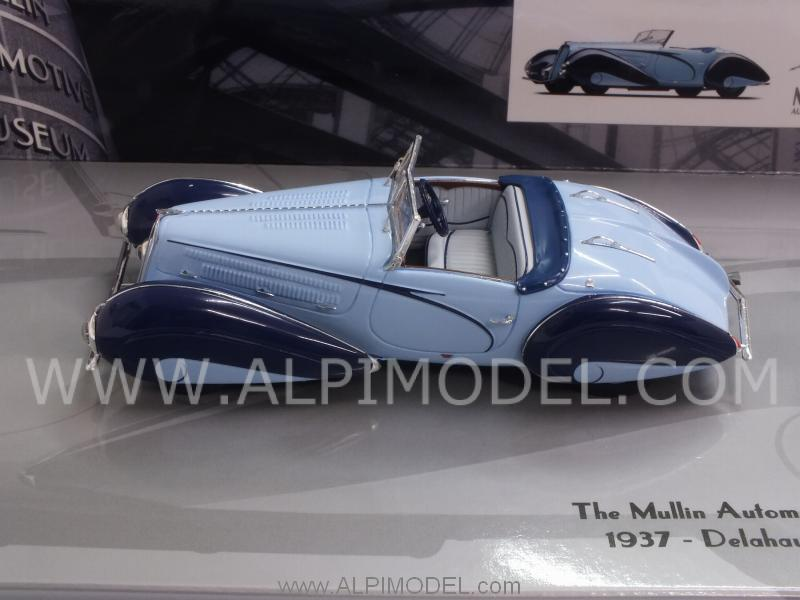 Delahaye Type 135-M Cabriolet 1937 Mullin Museum Collection by minichamps