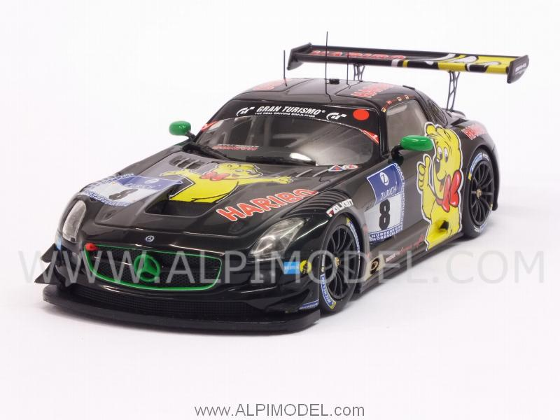 Mercedes SLS AMG Team Haribo Racing 24h Nurburgring 2015 Alzen - Holzer - Siedler by minichamps