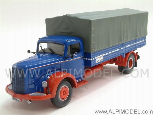 Mercedes L315 Pritsche 1954 Blue/Red by minichamps