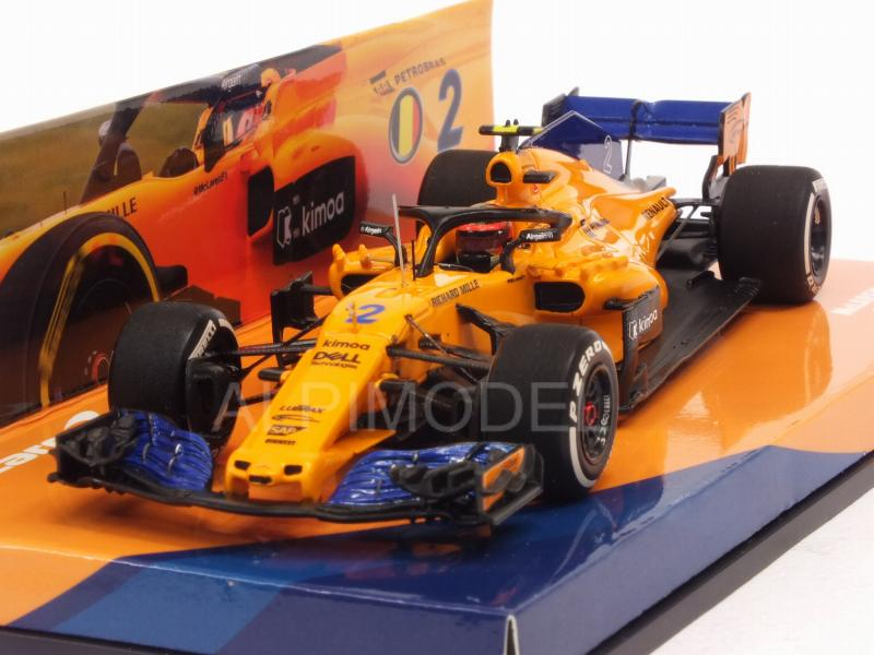 McLaren MCL33 #2 GP Spain 2018 Stoffel Vandoorne by minichamps