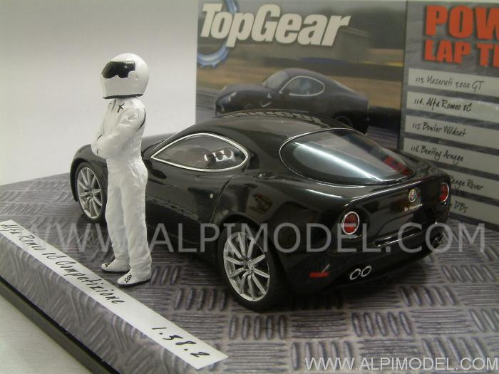 Alfa Romeo 8C Competizione - 'Top Gear' Edition - minichamps