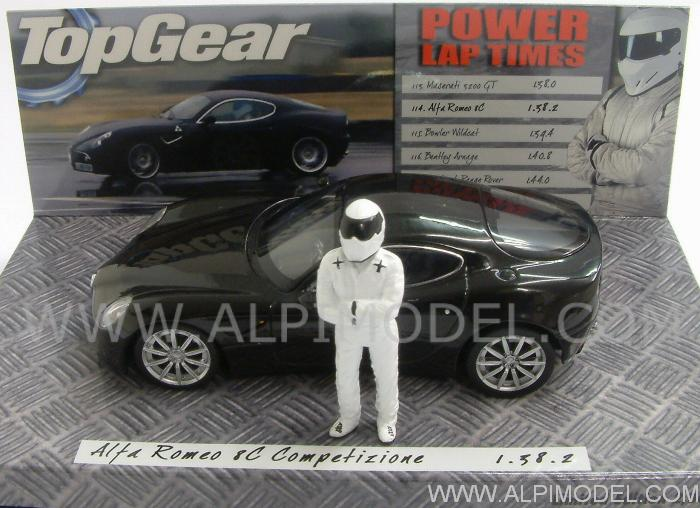 Alfa Romeo 8C Competizione - 'Top Gear' Edition by minichamps