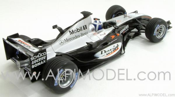 McLaren Mercedes MP4/18 2003 David Coulthard - minichamps