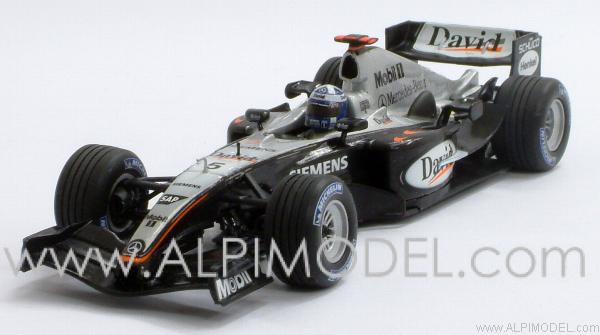 McLaren Mercedes MP4/19 2004 David Coulthard by minichamps