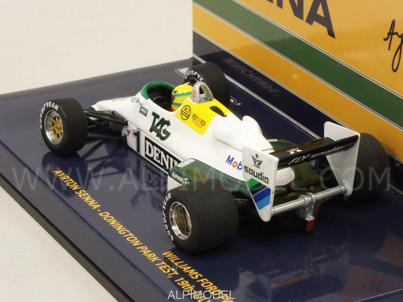Williams FW08C Ford Donington Park Test 19th July 1983 Ayrton Senna - minichamps