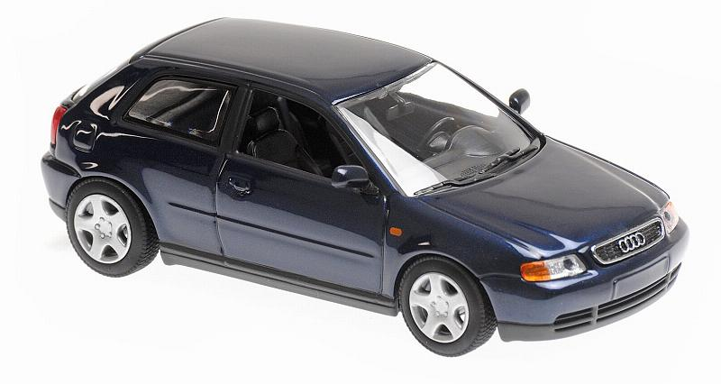 Audi A3 Blue Metallic 1996 'Maxichamps' Edition by minichamps