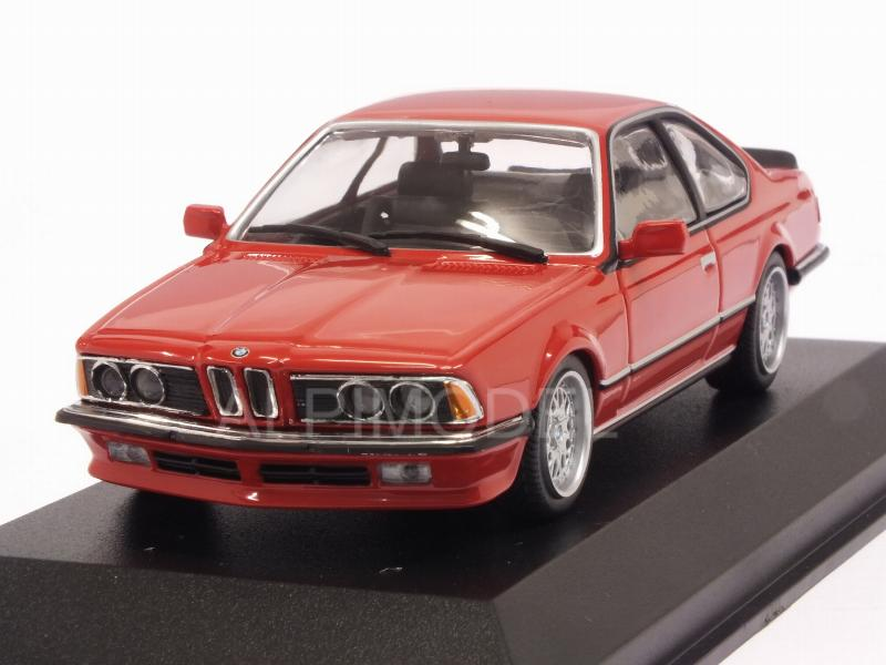 BMW 635 CSi (E24) 1982 (Red) 'Maxichamps' Edition by minichamps