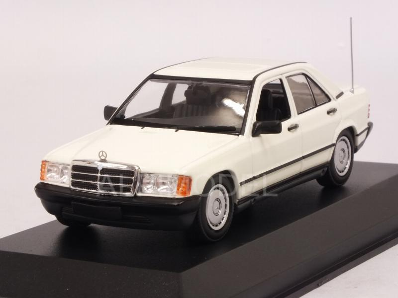 Mercedes 190E 1984 (White)  'Maxichamps' Edition by minichamps