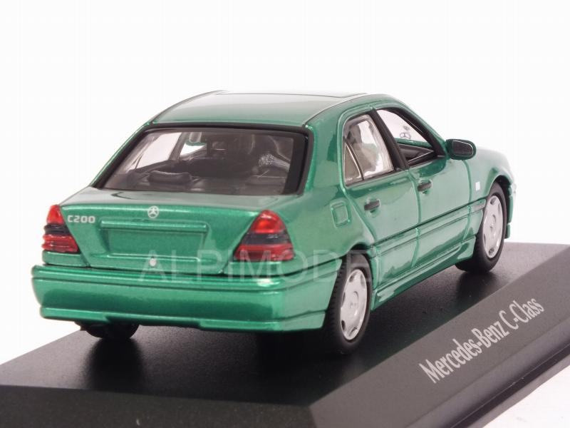 Mercedes C-Class 1997 (Green Metallic)  'Maxichamps' Edition - minichamps