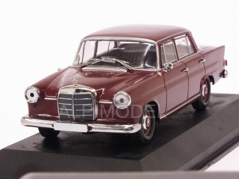 Mercedes 190 1961 (Dark Red)   'Maxichamps' Edition by minichamps