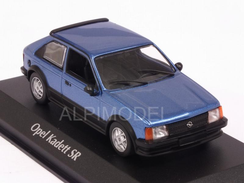Opel Kadett D SR 1982 (Blue Metallic)  'Maxichamps' Edition - minichamps