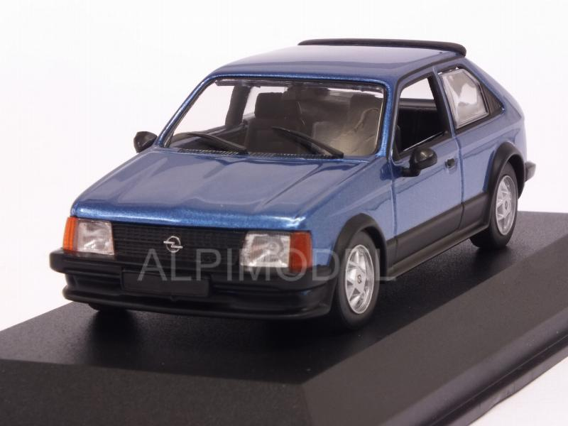 Opel Kadett D SR 1982 (Blue Metallic)  'Maxichamps' Edition by minichamps