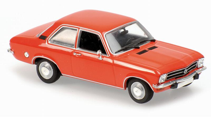 Opel Ascona 1970 (Red) 'Maxichamps' Edition by minichamps