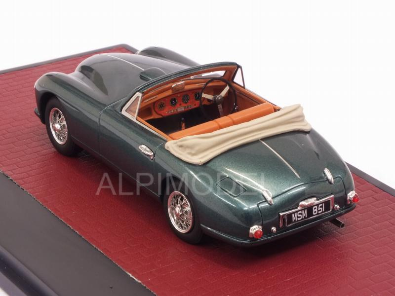 Aston Martin DB2 Vantage DHC open 1951 (Metallic Green) - matrix-models