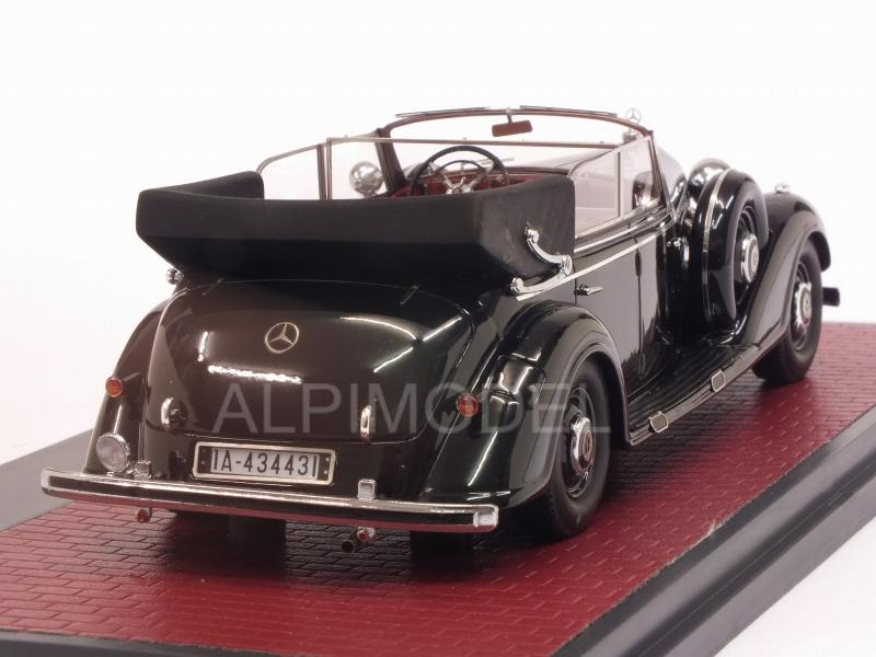 Mercedes 770 Cabriolet D open 1938 (Black) - matrix-models