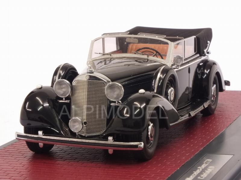 Mercedes 770 Cabriolet D open 1938 (Black) by matrix-models