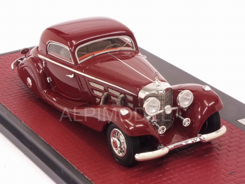 Mercedes 540K W29 Spezial Coupe 1936 (Red) - matrix-models