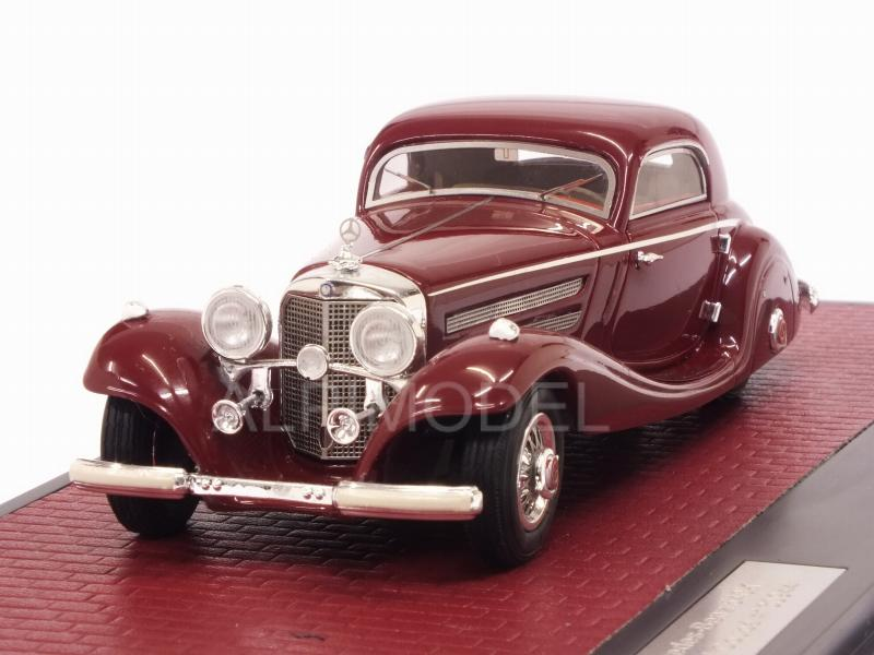 Mercedes 540K W29 Spezial Coupe 1936 (Red) by matrix-models