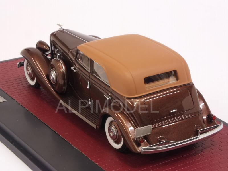 Duesenberg JN 559-2587 Rollston Sedan LWB 1935 (Brown Metallic) - matrix-models