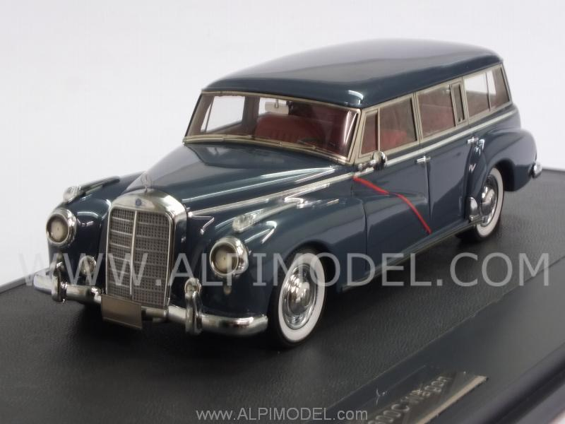 Mercedes 300C (W186) Station Wagon 1956 (Cobalt Blue) by matrix-models