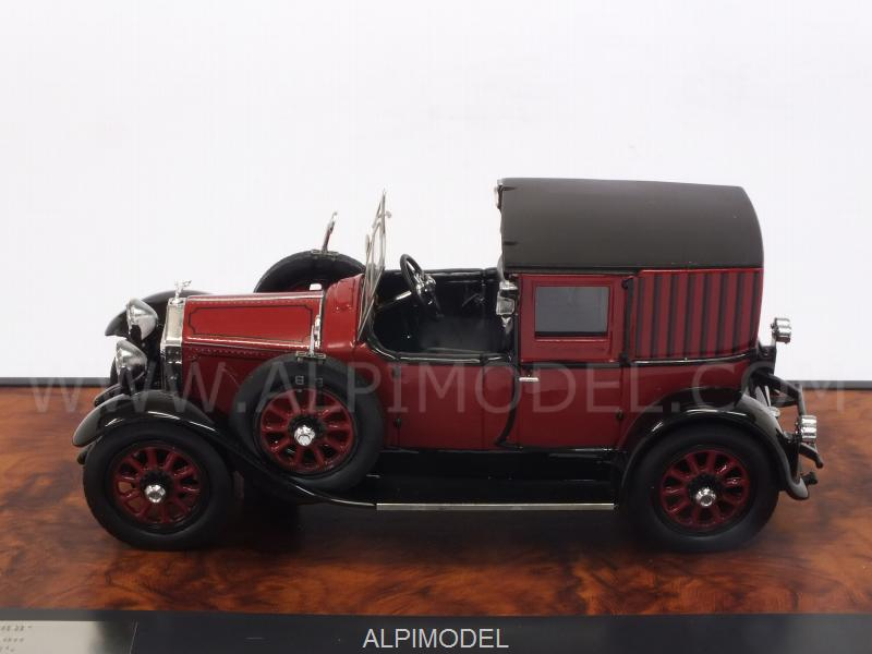 Rolls Royce 20 HP Open Drive Brougham by Brewster 1927 (Red/Black) - matrix-models
