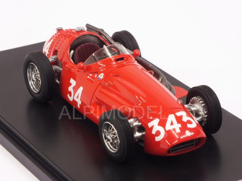 Maserati 250F #34 GP Belgium 1956 Stirling Moss - matrix-models