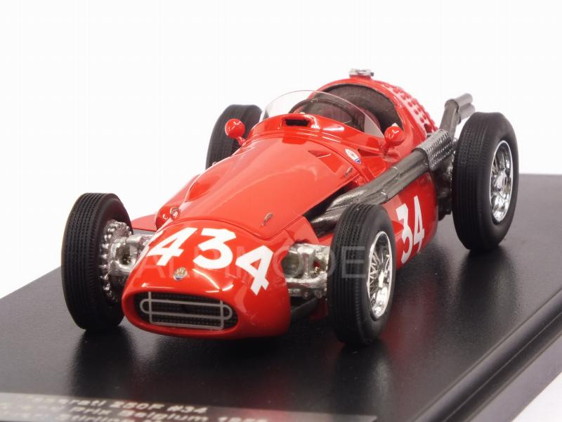 Maserati 250F #34 GP Belgium 1956 Stirling Moss by matrix-models