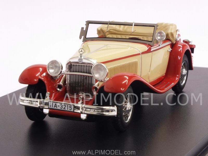 Mercedes Mannheim 370S 1932 (Beige/Red) by neo