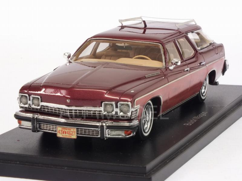 Buick Le Sabre Estate Wagon (Metallic Dark Red/Woody) by neo