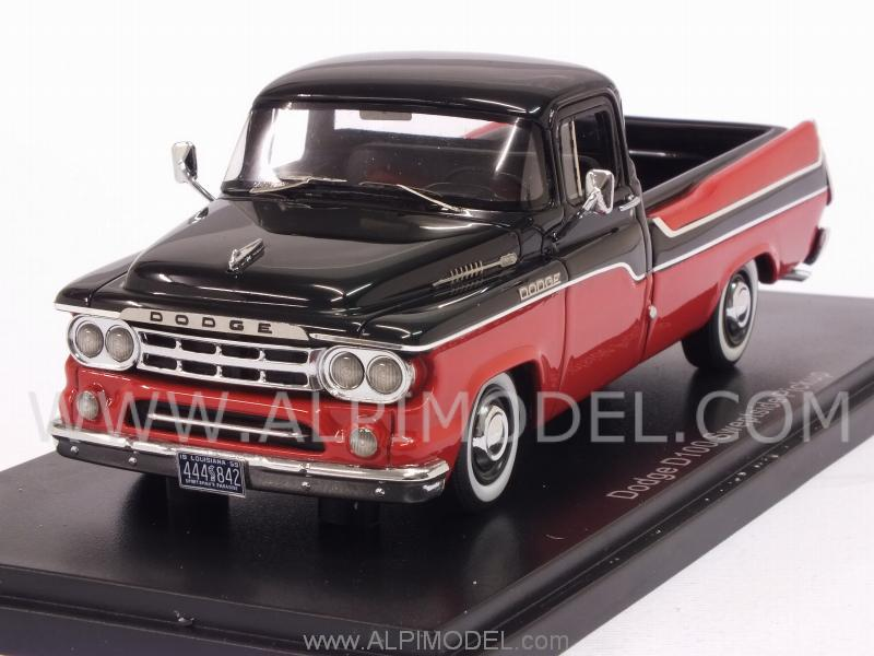 Dodge D100 Sweptside PickUp 1959 (Red/Black) by neo