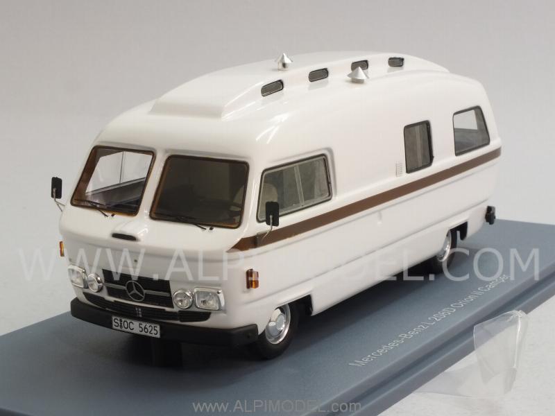 Mercedes Benz Van >> NEO 45625 Mercedes L206D Orion II Camper 1/43