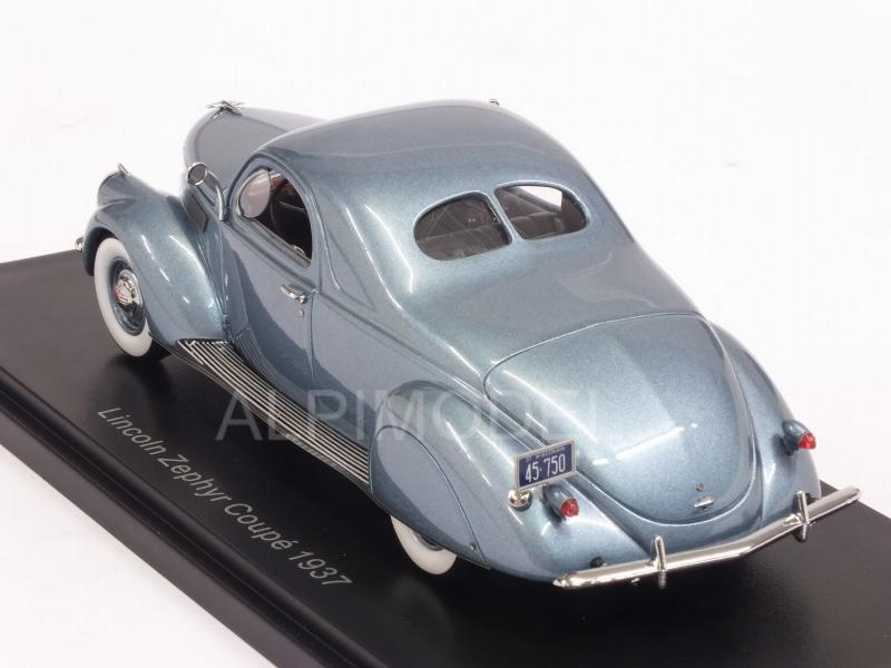 Lincoln Zephyr Coupe 1937 (Light Blue Metallic) - neo
