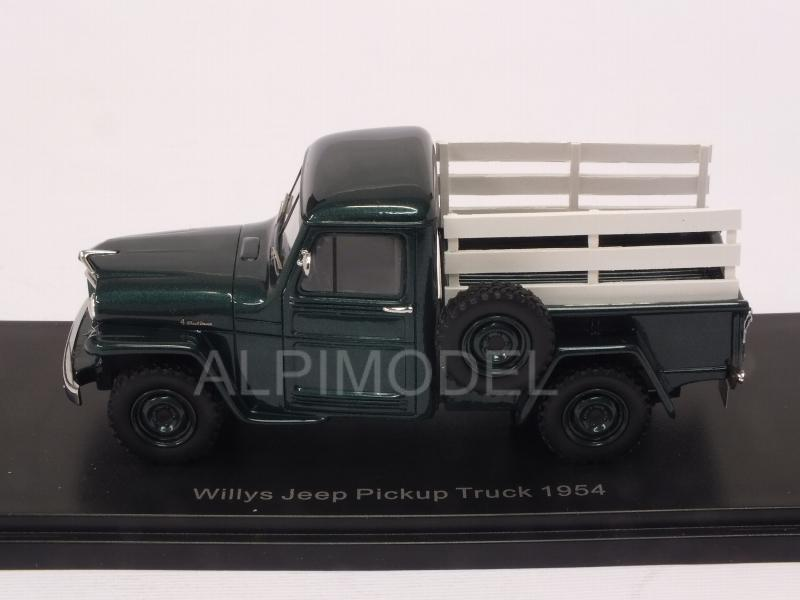 Jeep Willys Pick-Up 1954 (Green/Woody) - neo