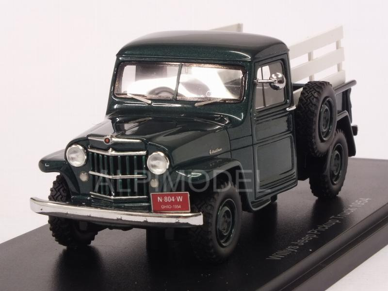 Jeep Willys Pick-Up 1954 (Green/Woody) by neo