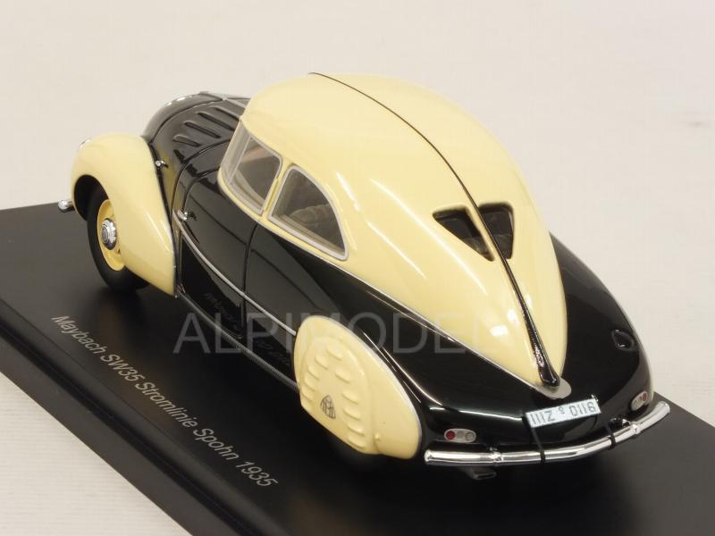 Maybach SW35 Stromlinie Spohn 1935 (Black/Cream) - neo