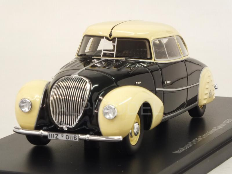 Maybach SW35 Stromlinie Spohn 1935 (Black/Cream) by neo