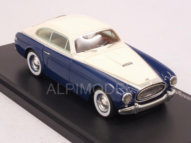 Cunningham C3 Continental Coupe Vignale 1952 (Blue/White) - neo