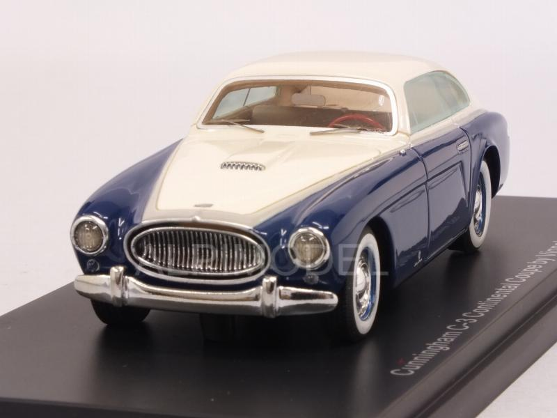 Cunningham C3 Continental Coupe Vignale 1952 (Blue/White) by neo